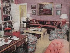 Jackie O S Library Another Layout For The At 1040 Fifth Note Changes To