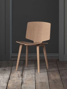 Scandinavian simplicity in its purest form. Bolia's Valby chair features a hardwearing and durable design in high quality, which is elegantly emphasised by the meticulous detailing on the seat edge and chair back. #officedesign #officefurniture #interiordesign #workplace #diningchair Chair Backs, Chair Design, Office Furniture, Workplace, Scandinavian, Dining Chairs, Stool, Pure Products, Interior Design