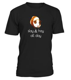 """# SLAY & HAY ALL DAY FUN GUINEA PIG T SHIRT .  Special Offer, not available in shops      Comes in a variety of styles and colours      Buy yours now before it is too late!      Secured payment via Visa / Mastercard / Amex / PayPal      How to place an order            Choose the model from the drop-down menu      Click on """"Buy it now""""      Choose the size and the quantity      Add your delivery address and bank details      And that's it!      Tags: T-SHIRT FEATURES TAN & WHITE GUINEA…"""