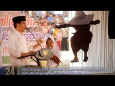 Lucu.. dihadiahi sepeda oleh Presiden Jokowi, Siswi SD ini kegirangan Loncat dari pangung - YouTube