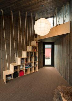 Jarmund/Vigsnæs' tiny timber cabin has angled facades