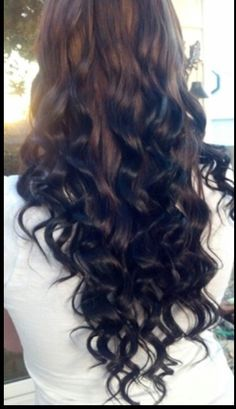 Reverse ombré brown and black