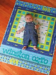 Baby & Kids Applique Patterns - Lullaby Lane Quilt Pattern