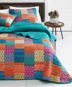 Ikat Artisan Quilt Set by Azalea Skye #zulily #zulilyfinds