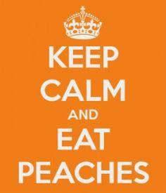 I Got This Martha: Millions of Peaches...Peaches for Me