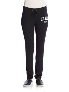 WILDFOX Ciao Italia Fitted Sweatpants. #wildfox #cloth #sweatpants