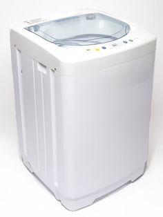 Compact 5.5 Lb. Capacity Full Automatic Top Load Washing Machine #TheLaundryAlternative
