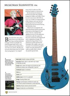 Elmer Ferrer Musicman Silhouette Mosrite Ventures B Guitar Article With Specs