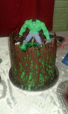 Hulk cake #mickeyandnicky