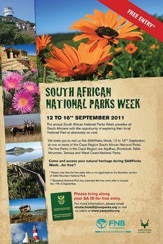 South Africa National Parks Week September 12-16 by planeta, via Flickr