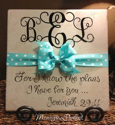 Graduation Personalized Monogrammed Decorative by MonogramPerfect, $29.99