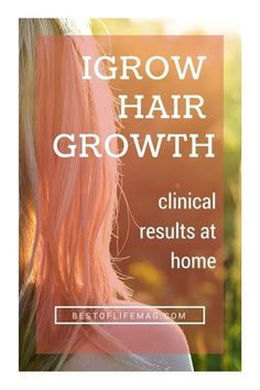 iGrow Hair Growthby Apira - Get Clinical Results at Home - The Best of Life Magazine