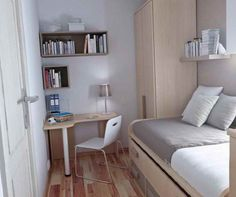Extra small bedroom ideas - https://bedroom-design-2017.info/designs/extra-small-bedroom-ideas.html. #bedroomdesign2017 #bedroom