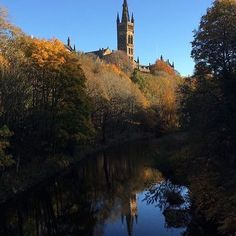 From our friends at Glasgow  @uofglasgow - Hope you're enjoying this lovely #uofgautumn morning  great photo by @lornab22 #UofG #UniversityofGlasgow #GlasgowUni #Glasgow #Scotland #University #College #Campus #UofGlasgow #goviewyou