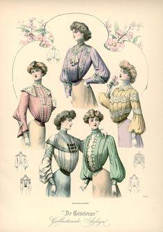 [De Gracieuse] Blouses en tailles voor jonge dames (January 1903)