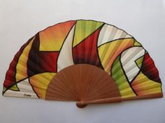 Abanico Hand Held Fan, Hand Fans, Royal Wedding Harry, Fan Decoration, Vintage Fans, Diy Fan, Embroidered Quilts, Pretty Hands, Silk Painting