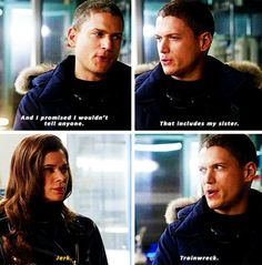 I hope we can see more of the Snart siblings in further episodes.