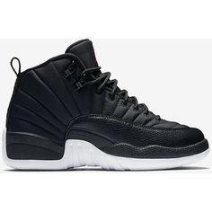 Air Jordan Retro 12 (3.5y-7y) Big Kids' Shoe . Nike.com ($140) ❤ liked on Polyvore featuring shoes and jordan 12