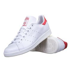 Adidas Stan Smith Rouge Cuir