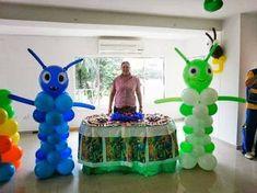 Resultado de imagen para bajo terra decoracion 7th Birthday, Happy Birthday, Balloon Columns, Holidays And Events, Party Planning, Balloons, Balloon Ideas, Party Ideas, Cakes
