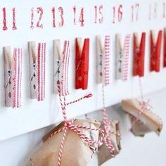 so happening when I have kids... diy advent calendar!