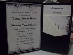 I found this lace stationery design somewhere on the internet, designed the invitations in Microsoft Word Starter.