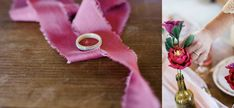 You'll find heaps of eco wedding inspiration in this feature, filled with berry-coloured hues and elegant sustainable touches. Eco Wedding Inspiration, How To Make Paper, Wedding Shoot, Paper Flowers, Berry, Unique Gifts, Editorial, Letters, Concept