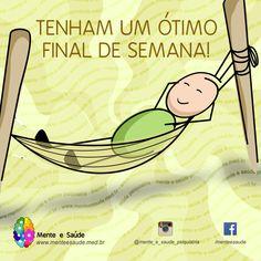 Happy Weekend Bom Final de Semana Atividade  Saúde Mental