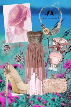 """Garden Party Jewels"" by kendra-pinca on Polyvore"