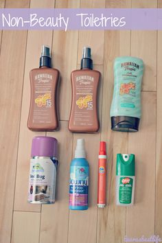 """Those must-haves that don't really fit into any category, other than """"don't leave these at home!""""   laurasbestlife.com"""