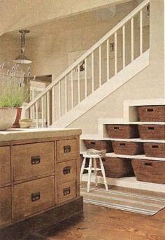 under stair storage...