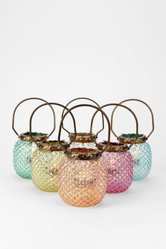 Hobnail Votive Candle Holder $16 each  #UrbanOutfitters
