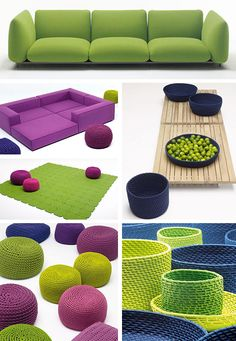 Modern Cozy Furniture - new by Paola Lenti