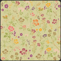 Art Gallery Bohemian Ditsy Mellow  Quilt Fabric