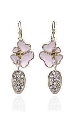 Glass Earring by Nina Ricci
