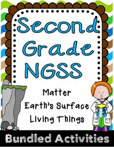 **Activities Align to 2nd Grade NGSS**The activities in this package can be implemented in science throughout the year. Students can complete tasks in small group science stations, or during your literacy block in literacy stations. 2nd Grade Earths Surface Unit Includes:-vocabulary activity directions, 18 flashcards, and vocabulary posters-Earth Changes Investigations: lab cards and reflection sheets, PLUS Flood Control Engineering Challenge-Earths Surface Writing Journal (9 prompts and a…