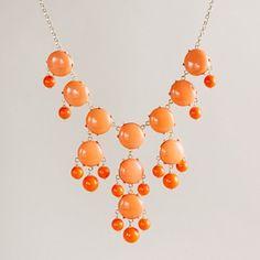 Bubble Necklace by JCrew