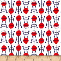 Patriotic Parade Barbeque White from Designed by Amanda McGee for Studio E Fabrics, this cotton print fabric is perfect for quilting, apparel and home decor accents. Apple Festival, Alabaster Stone, Cotton Blossom, Sewing Circles, Coffee To Go, Jar Lights, Blended Coffee, Cool Diy Projects, Red Apple
