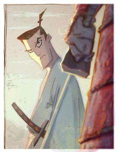 "Samurai Jack by Coran ""Kizer"" Stone"