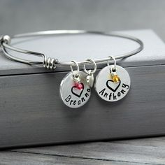 Mother Bangle With Charms