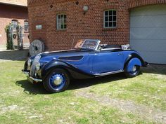 BMW 327 - BMW 327 mit 328 Motor Cabriolet 1938