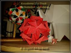 Kusudama Star Track - Thank you for your visit