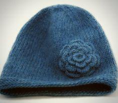 free winter hat knit pattern