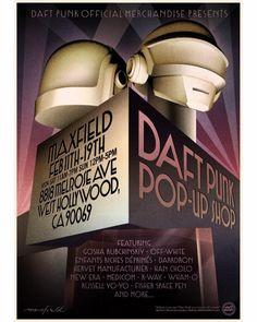 Daft Punk announce LA pop-up shop with retrospective artwork robot helmets and more
