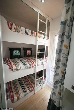 Billedresultat for bunkbed caravan