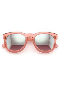 0b3b21e4ac Wildfox Couture Classic Fox Frame Sunglasses in Rosewater