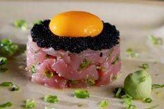 SUSHI LEBLON Atum com ovo e caviar