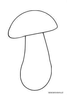 grzyb - szablon