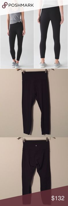 Lululemon Original Align Pant Lululemon Original Align Pant in Black, size 4, excellent condition with no flaws or signs of wear(meaning no rips/holes/piling/seam damages/stains/odours/etc). Worn by original owner only a couple of times. Rip tag removed. Priced high because you can't get this version anymore. Bundle to save 10% off ❤ These make your booty look great 👌 lululemon athletica Pants