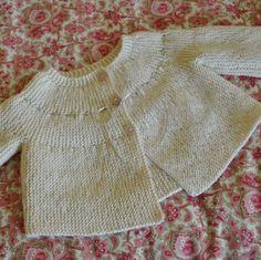Garter Stitch Jacket pattern by Debbie Bliss
